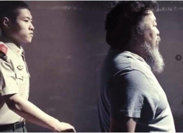 Ai Wei Wei's video 'Dumbass'. Source: Ai Wei Wei's Youtube channel
