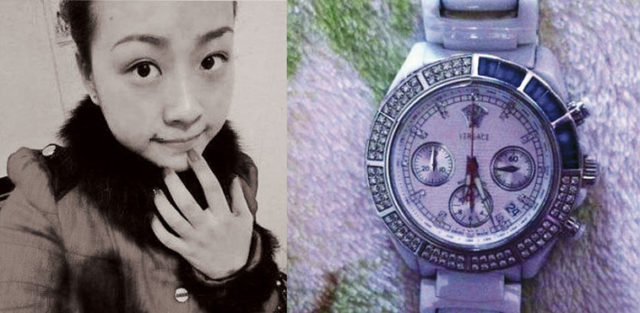 Bureau chief's daughter-in-law posted her luxury purchases online. Source: Weibo.com