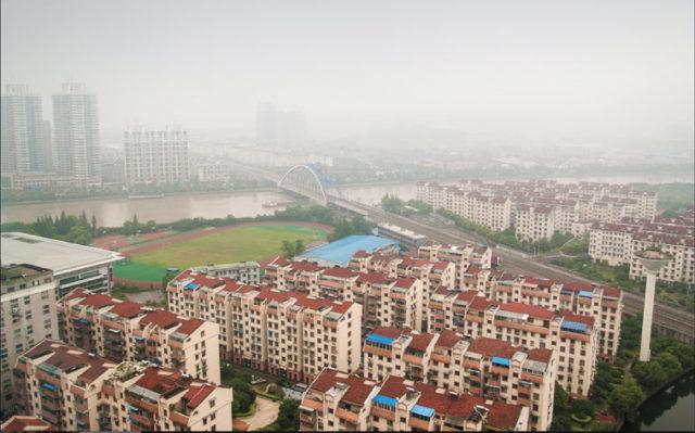 Housing complex in Ningbo, Zhejiang province. Photo: Robert S. Donovan