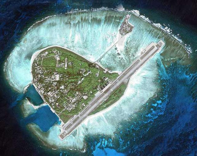 The island of Sansha city. Source: DWnews.com