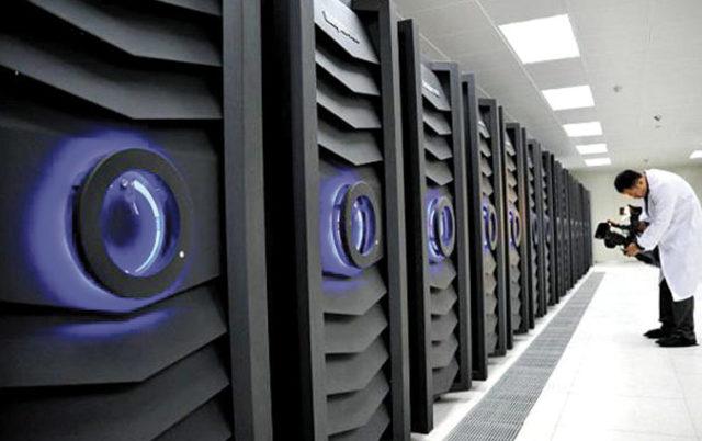 Sunway BlueLight supercomputer. Source: News.cn