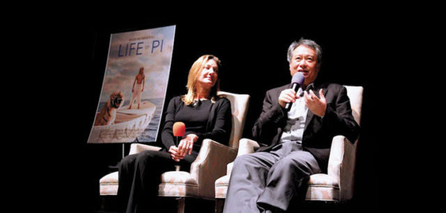 Ang Lee introducing Life of Pi at the 35th Mill Valley Film Festival. Photo: Cindy Maram
