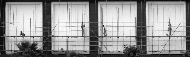 Urban construction Photo: Aaron Webb, Guangzhou/Flickr
