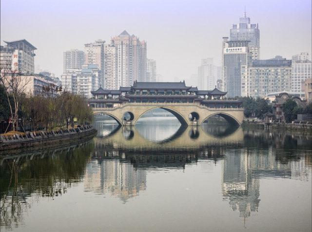 Urbanisation in Chengdu Photo: blichb/Flickr