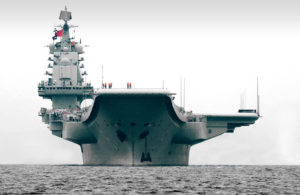China's first aircraft carrier Liaoning went into commission on 25 September 2012. Rumours are rife that China is in the process of building a second aircraft carrier Source: reddit.com