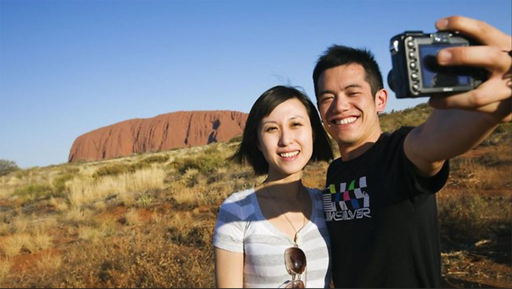 Australia was mainland China's most popular travel destination in 2013 Photo: Northern Territory Tourism