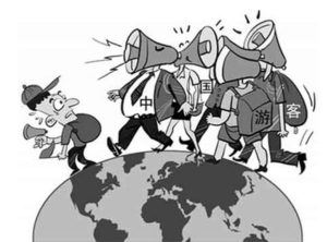 Mainland Chinese tourists are the subject of global criticism. The Chinese government has issued guidelines on how to travel abroad  Source: Xinhuanet.com