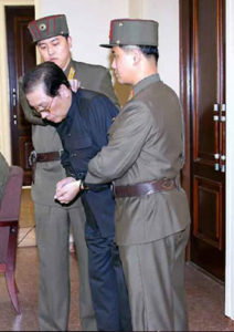 Sino-North Korean relations deteriorate: In December 2013, North Korean leader Kim Jong-un ordered the execution of Jang Sung-taek — his uncle and key policy advisor on China policy Source: Unknown