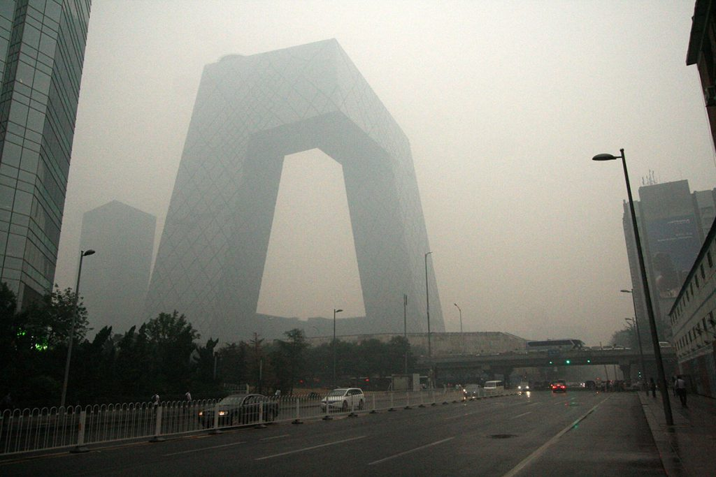 Will Beijing escape from underneath its 'smog dome'? Photo: Ernie/Flickr