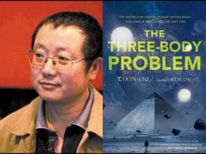 Lui Cixin and his Hugo award-winning book, The Three-Body Problem Source: youtube.com