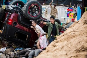 The set of Chinese film, Wolf Warrior 2